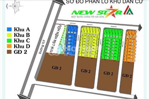 Đất mặt tiền tỉnh lộ 9 nối dài Nguyễn Văn Bứa Hóc Môn 390 triệu nhận nền 100m2