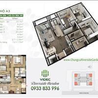 Cần bán căn hộ chung cư cao cấp Riverside Garden 349 Vũ Tông Phan 4 ngủ tầng 9 căn góc