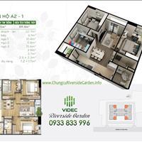 Bán căn hộ 3 phòng ngủ, full nội thất, tầng trung 349 Vũ Tông Phan