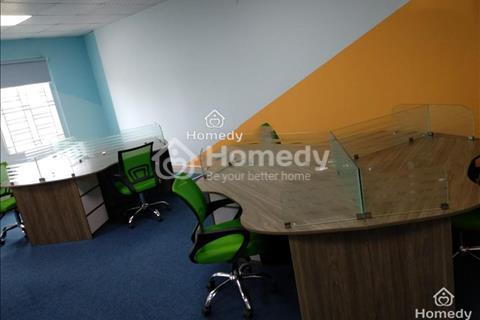 Cho thuê văn phòng full đồ 50m2 - bàn làm việc có sẵn - giá trọn gói