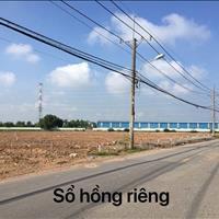 Thiếu vốn xây xưởng cần bán ngay lô đất mặt tiền đường Bình Mỹ, 93m2, 755 triệu, sổ hồng riêng