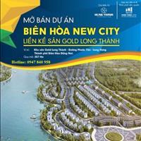 Siêu phẩm đất nền sân golf Long Thành Biên Hòa New City, giá chỉ 10 triệu/m2