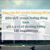 Nhà phố Rosita Garden Khang Điền cơ hội đầu tư sinh lời cao