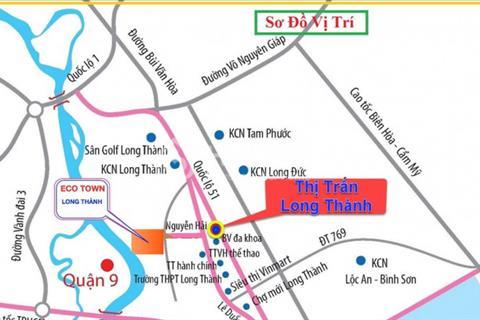 Cơ hội sở hữu đất vàng trung tâm thị trấn Long Thành Đồng Nai