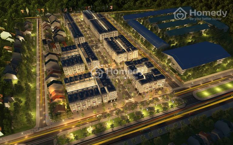 Bán đất nền Sao Vàng City - Uông Bí, mặt đường quốc lộ 18A, có sổ đỏ, giá từ 900 triệu/lô