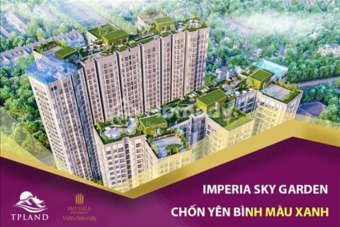 Cần bán căn hộ 2PN, tầng 8 tòa B dự án Imperia Sky Garden 423 Minh Khai, chiết khấu lên đến 6,5%