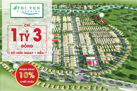 Trị Yên Riverside cơ hội đầu tư siêu lợi nhuận phía nam Sài Gòn - Chiết khấu 10% trong ngày mở bán