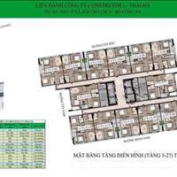 Bán cắt lỗ căn 69,8m2 nhà ở xã hội Bộ Công An - 43 Phạm Văn Đồng, chênh 300 triệu rẻ nhất dự án