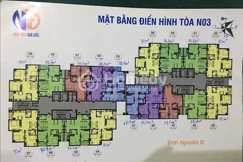 Đến hạn đóng tiền bán gấp căn 809 N03B, 2 phòng ngủ, 2 wc, chênh rẻ, liên hệ ngay