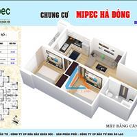 Chung cư thương mại giá rẻ Mipec duy nhất tại quận Hà Đông giá chỉ 852 triệu căn 2 phòng ngủ