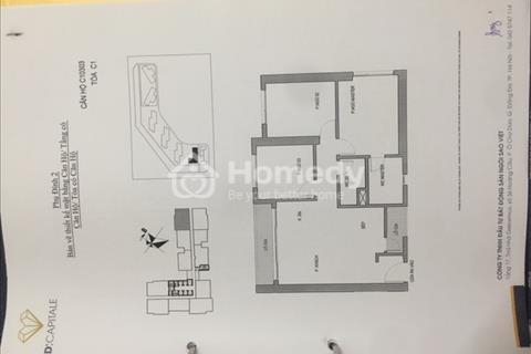Chính chủ cần bán gấp căn 03 tòa C1, tầng 03, view quảng trường, dự án D' Capitale Trần Duy Hưng