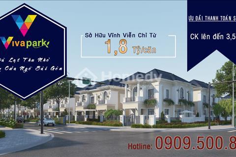 Chính thức nhận giữ chỗ dự án Viva Park Giang Điền