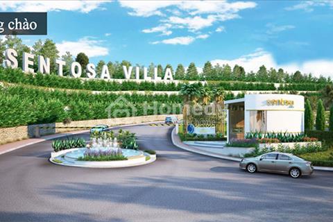 Cần ra nhanh nền biệt thự biển Sentosa Villa giá tốt