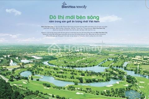 Bán đất nền Biên Hòa New City khu đô thị mới bên sông, giá 1 tỷ, sổ đỏ