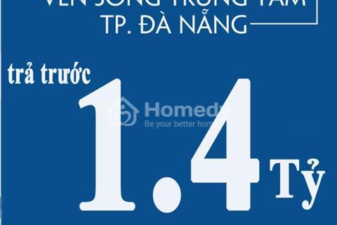 Biệt thự ven sông Hòa Quý chỉ 2,7 tỷ /nền, CK2%