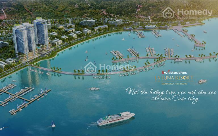 Mở bán Condotel Swisstouches La Luna. Siêu dự án kết hợp giữa căn hộ và khách sạn tại Nha Trang