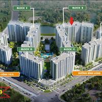 Căn hộ 2 phòng ngủ, 2WC, khu Emerald dự án Celadon City 2.5 tỷ, view nội khu nhận nhà tháng 9/2019