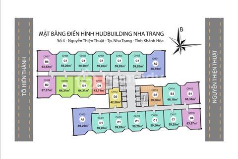 HUD Building Nha Trang, căn góc duy nhất giá chủ đầu tư, căn 13.01