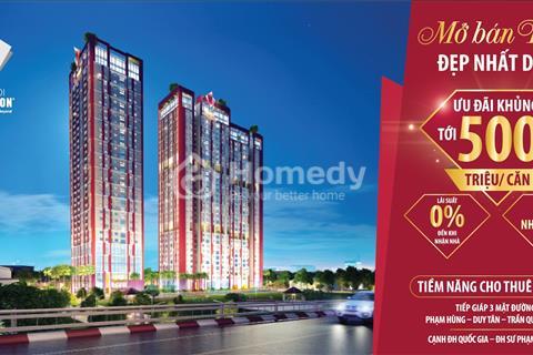 Nhận ngay quà tặng 500 triệu, CK 2.5% khi đặt mua căn hộ dự án Paragon Cầu Giấy sắp bàn giao