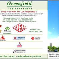 Bán căn 2 phòng ngủ dự án Greenfield 686, giá chỉ 1,83 tỷ, quý 2/2019 nhận nhà