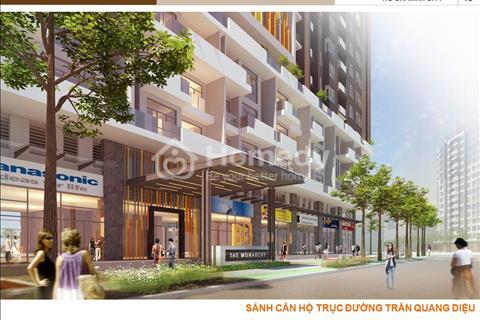 Bán nhanh Shophouse Monarchy 1 căn duy nhất, ngay sảnh Reception mặt tiền Trần Quang Diệu