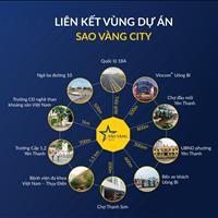 Mở bán đất nền khu đô thị Sao Vàng City trung tâm thành phố Uông Bí