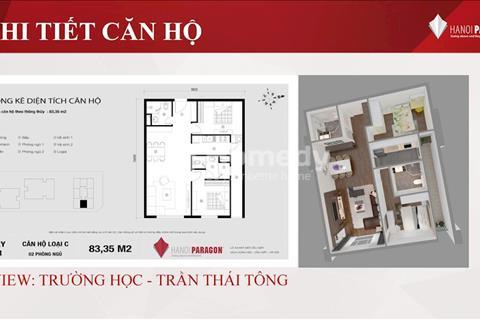FLC Complex Phạm Hùng, Cầu Giấy, giá chỉ từ 3,1 tỷ, căn hộ 80m2, full nội thất
