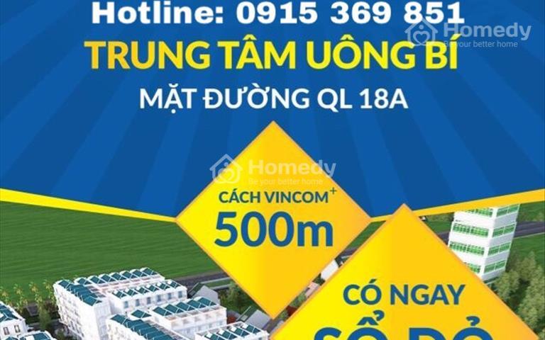 Mở bán đợt 1 dự án nhà phố Sao Vàng City - trung tâm thành phố Uông Bí