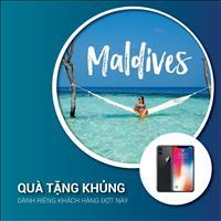 Sở hữu căn hộ nghỉ dưỡng 5 sao, khách hàng được tận hưởng chuyến du lịch Maldives trị giá 100 triệu