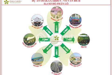 Đất mặt tiền Võ Văn Bích, ngay Lê Văn Khương nối dài, giá đầu tư 10.9 triệu/m2