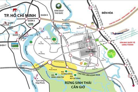 Nhà phố đồng bộ xây sẵn ngay trung tâm thị trấn Nhơn Trạch
