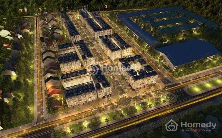 Bán đất ngay mặt đường quốc lộ 18A, Yên Thanh, Uông Bí, Quảng Ninh, diện tích 91m2, hướng nam