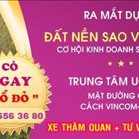 Mở bán dự án Sao Vàng City đợt 1, đất nền Uông Bí, giá chỉ từ 10 triệu/m2