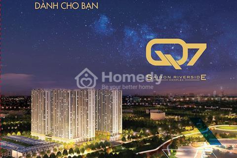 Bán căn hộ view sông cầu Phú Mỹ thuộc dự án Q7 Saigon mã căn V2.24.05