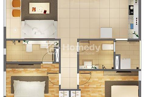 Bán căn hộ Citi Home, Cát Lái, Quận 2, căn góc 72m2