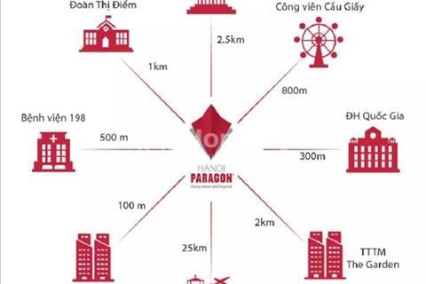 Hà Nội Paragon - Chỉ từ 3,3 tỷ sở hữu ngay căn hộ 3 phòng ngủ full nội thất cao cấp