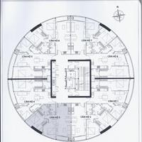 Căn hộ 2 phòng ngủ, tầng trung, view Panorama, 75m2 - Giá cực tốt 1,86 tỷ bao phí, dọn ở liền