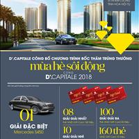 D' Capitale Trần Duy Hưng - Nhận nhà ngay cuối 2018 - Chiết khấu đến 14%, trực tiếp chủ đầu tư