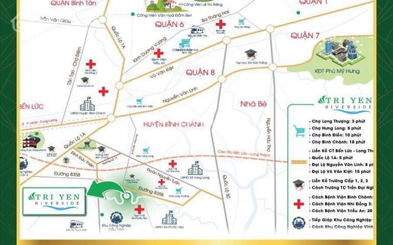 Cơ hội đầu tư đất nền phía nam Sài Gòn - dự án Trị Yên Riverside