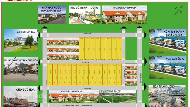 Dự án Khu dân cư Hoa Khải 1 Long An - ảnh giới thiệu