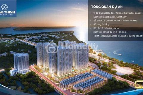 Smarthome Q7 Saigon Riverside full nội thất, chiết khấu 3-21%, đẳng cấp hơn 50 tiện ích