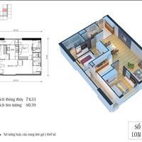 Chính chủ bán căn hộ Eco Green Nguyễn Xiển 75m2, full nội thất, giá 2,1 tỷ