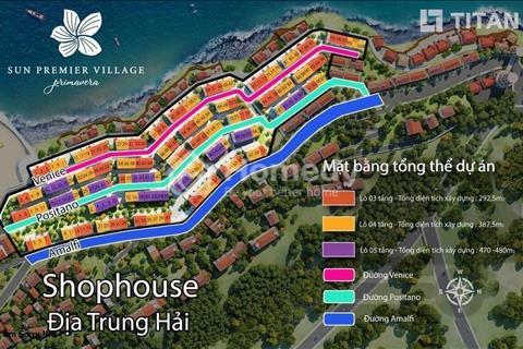 Chính chủ cần tiền bán gấp căn góc Shophouse Địa Trung Hải Ven 67 cực đẹp xây 4 tầng, view biển