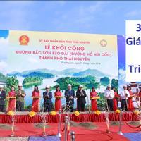 Chính thức cho đặt chỗ 39 lô đất nền dự án đường Hồ Núi Cốc, Thái Nguyên