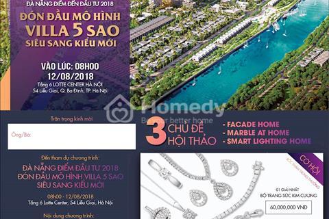 One River Villas - phố ngọc thượng lưu bên sông Hàn, ven biển Đà Nẵng, mở bán 12/8 tại Lotte Hà Nội