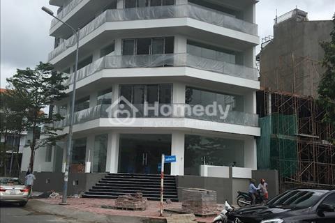 Cho thuê tòa nhà văn phòng đường D4 khu Him Lam, 12.5x20m, hầm 5 tầng, thang máy, 160 triệu/tháng