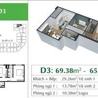 Bán căn hộ cao cấp Eco City Việt Hưng giá 27 triệu/m2, full nội thất châu Âu, tiện ích 5 sao