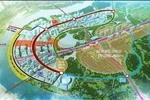Dự án nằm ở trung tâm khu đô thị Thủ Thiêm, dọc ven sông Sài Gòn thuộc quận 2, TP Hồ Chí Minh.