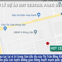 Cần chuyển nhượng gấp lô đất đẹp dự án HDT Central Park, Xã Đồng Văn, Huyện Duy Tiên