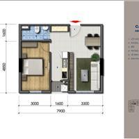 Căn hộ 2 phòng ngủ tọa lạc trên đường Lê Thị Riêng chỉ 900 triệu